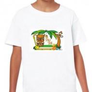 ¡SUPER OFERTA! Camiseta Niño Blanca Tiki Tot