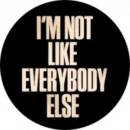 Chapa I'm Not Like Everybody Else