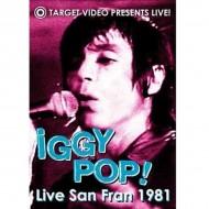 IGGY POP Live San Fran 1981 (DVD)