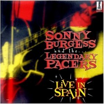 SONNY BURGESS & THE LEGENDARY P. Live In Spain (LP)