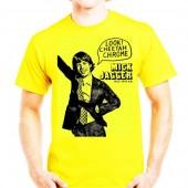 Camiseta Amarilla Cheetah Chrome