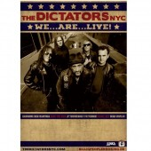 Póster The Dictators NYC 2017