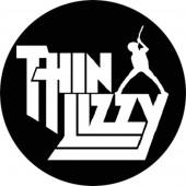 Thin Lizzy Logo Badge